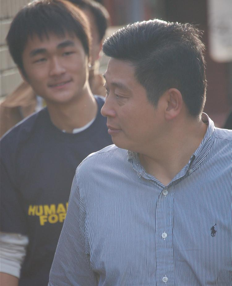 Chinese democracy activist, Yang Jianli (The Epoch Times)