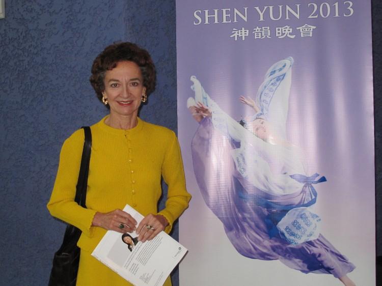 Susan Weidner enjoyed Shen Yun