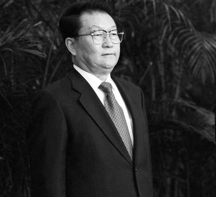 Li Changchun, a  member of the Chinese Communist Party Politburo has been accused of genocide in a lawsuit filed in Ireland.  (Feng Li/Getty Images)
