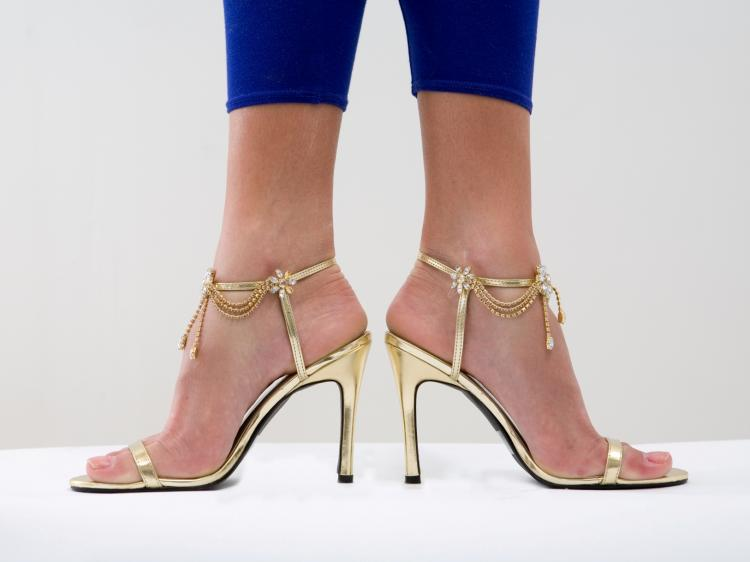 HIGH HEELS: A University of California podiatrist says there is nothing good about them. (Photos.com)