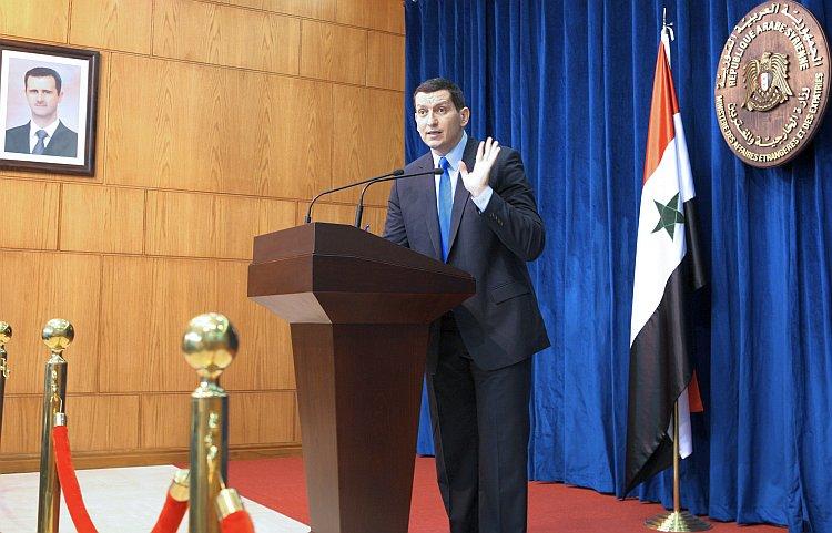 syria massacre Syrian foreign ministry spokesman Jihad al-Makdissi