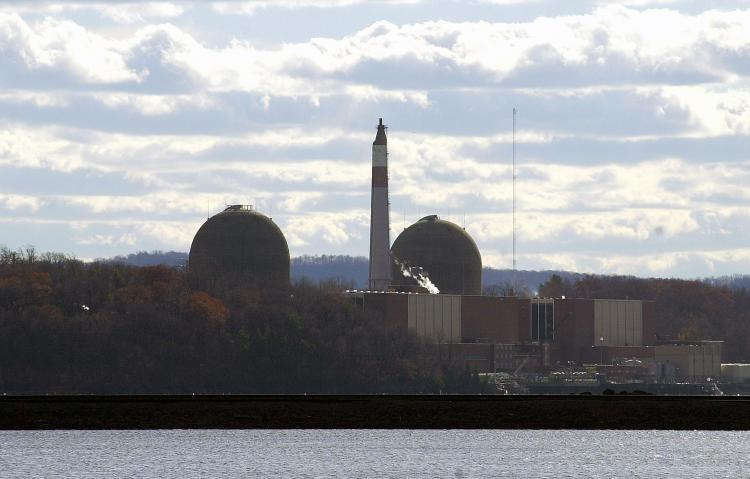SAFETY: The Indian Point nuclear power plant that is 20 miles north of New York City has released new radio ads assuring local residents of its structural safety in the case of an earthquake.  (Chris Hondros/Getty Images)