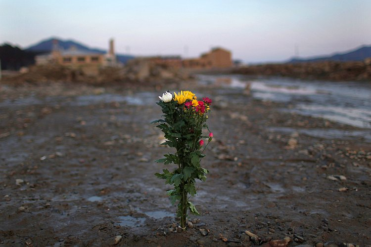Japan Commemorates First Anniversary Of Earthquake And Tsunami