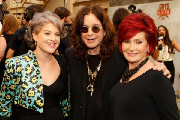 Kelly Osbourne, musician Ozzy Osbourne, and TV personality Sharon Osbourne