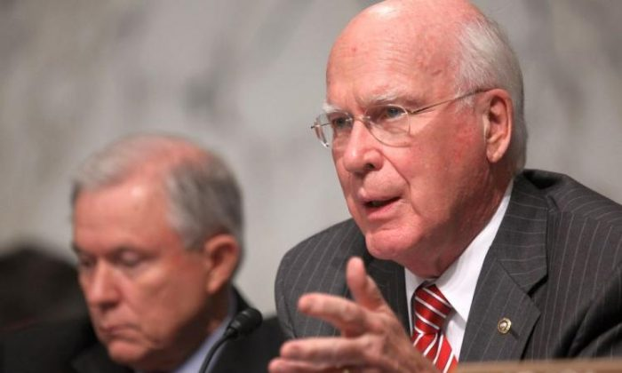 Senate Judiciary Committee Chairman Sen. Patrick Leahy (D-Vt.) in a file photo. (Mario Tama/Getty Images)
