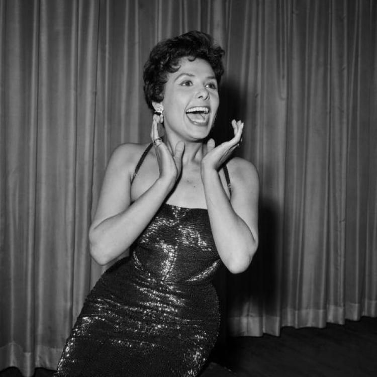 Lena Horne, born Lena Mary Calhoun Horne in 1917 in New York, US actress and Jazz singer. Here she is pictured in the 1950's. She died Sunday at age 92. (-/AFP/Getty Images)
