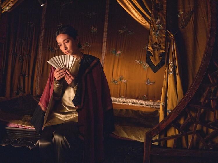 SECRET FAN: Actress Bingbing Li in a scene from 'Snow Flower and the Secret Fan.'  (Courtesy of Fox Searchlight Pictures)