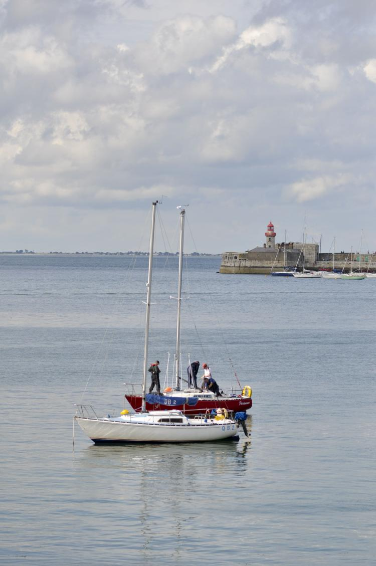 Lighthouse on Dun Laoghaire pier, Dublin (Martin Murphy/The Epoch Times)