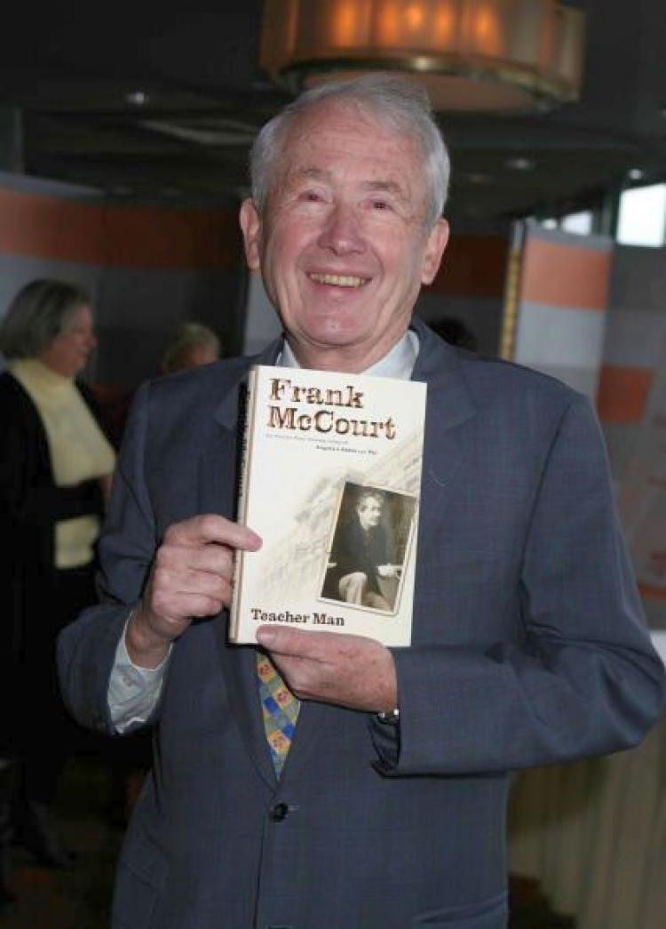 'Teacher Man' reflects Frank McCourt�s impressive honesty in documenting his surprises, trials, happiness, and confusion as a new teacher. (Amy Sussman/Getty Images)
