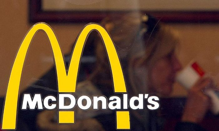 CCP virus forced 12 McDonald's stores to shut for an environmental clean in Melbourne. (Justin Sullivan/Getty Images)