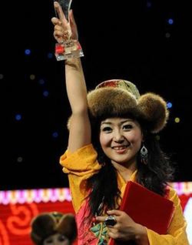 A 22-year-old Tibetan girl, Yudron, was crowned the 'Tibet Tourism Image Ambassador.' (Getty Images)
