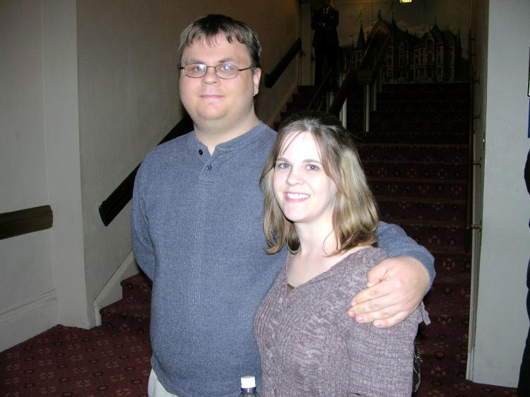 Chris and Stacy, both computer programmers, attended Divine Performing Arts in Cincinnati on Dec. 23, and were impressed with what they saw. (The Epoch Times)