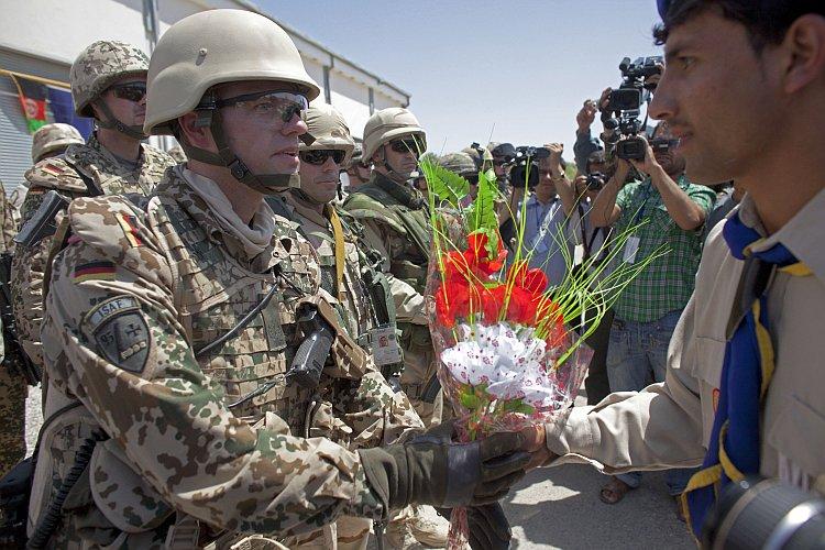 NATO Hands Over Control of Mazar-e-Sharif