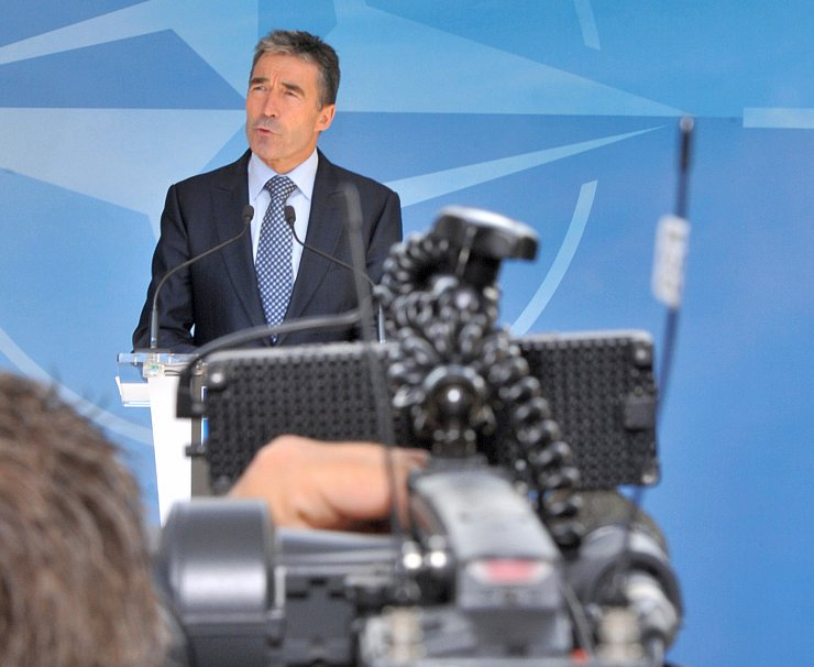 NATO chief Anders Fogh Rasmussen