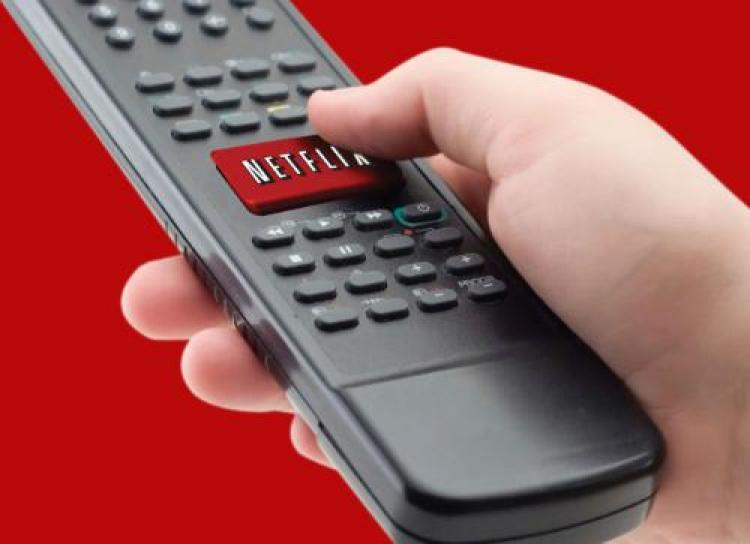 A remote with the upcoming Netflix button. (Netflix)