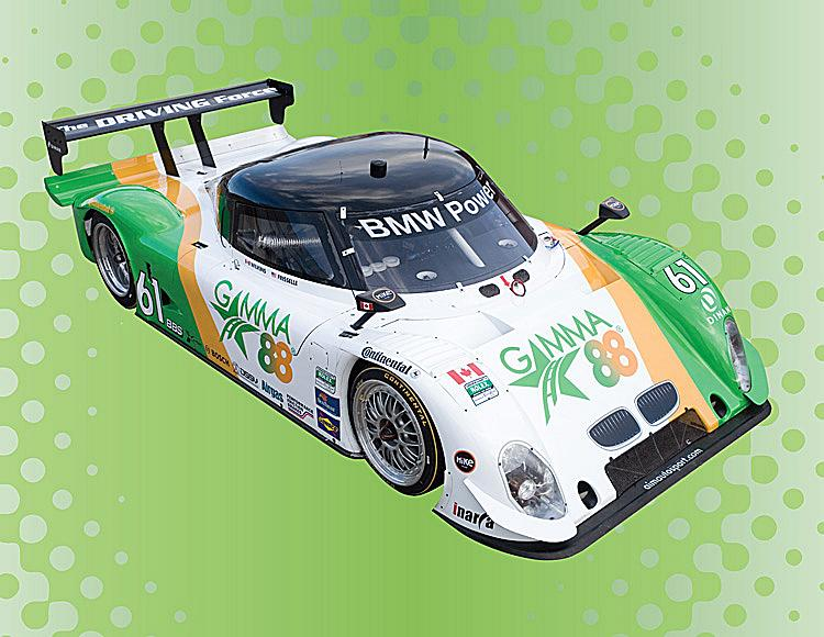 The AIM Autosport will look like this in its new Gamma88 livery at the Porsche 250. (Courtesy Sunday Group)