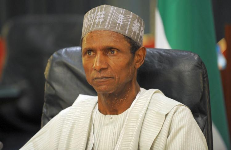 Nigerian President Mallam Musa Yar'ardua at a meeting at the council chambers at the Aso Villa in Abuja on June 24, 2009. (Pius Utomi Ekpei/AFP/Getty Images)