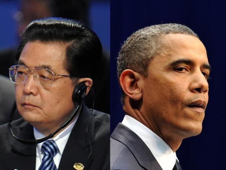 President Obama and Chinese leader Hu Jintao to hold meeting in Washington, D.C. (AFP/Getty Images)