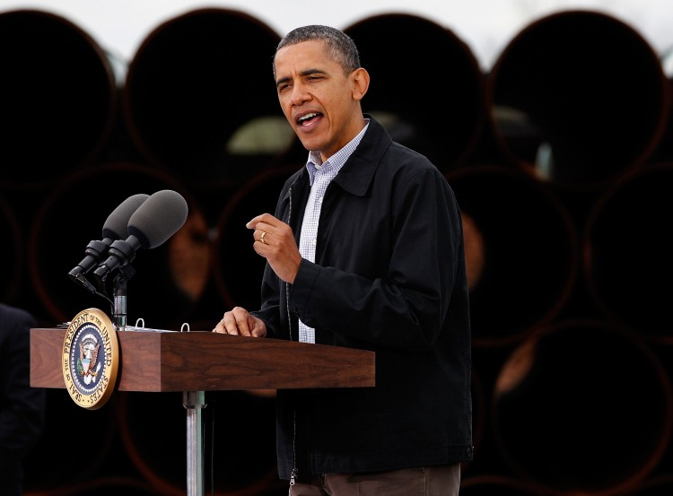 President Barack Obama, the most admired man of 2009, speaks about the attempted terror attack on a US bound airline on Christmas Day on January 7, 2010 in Washington, DC. (Mark Wilson/Getty Images)
