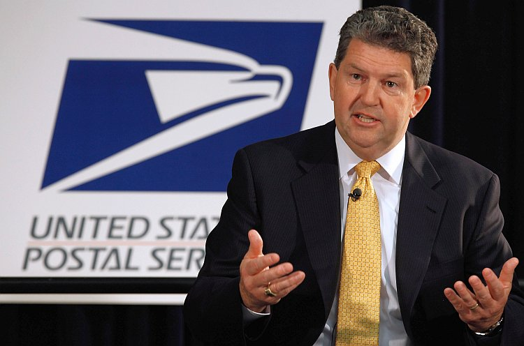 Postmaster General and U.S. Postal Service CEO Patrick Donahoe