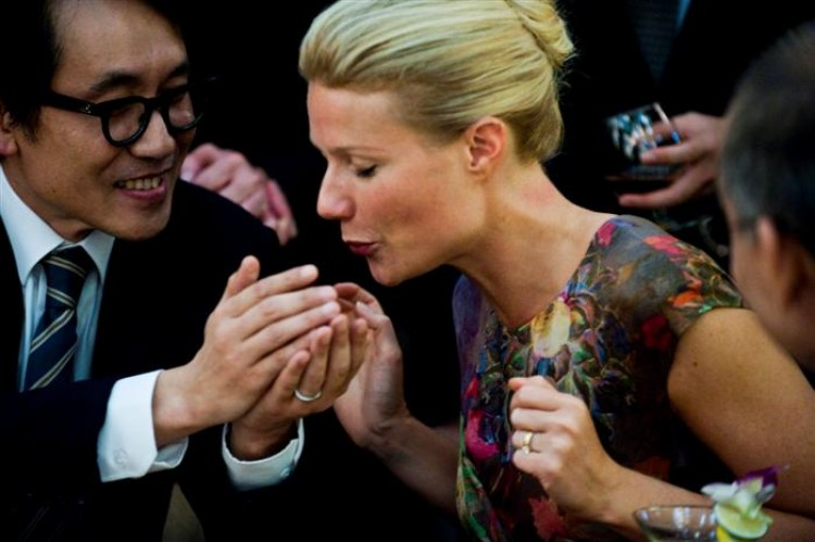 Gwyneth Paltrow in the thriller 'Contagion.' (Claudette Barius/ Warner Bros. Pictures)