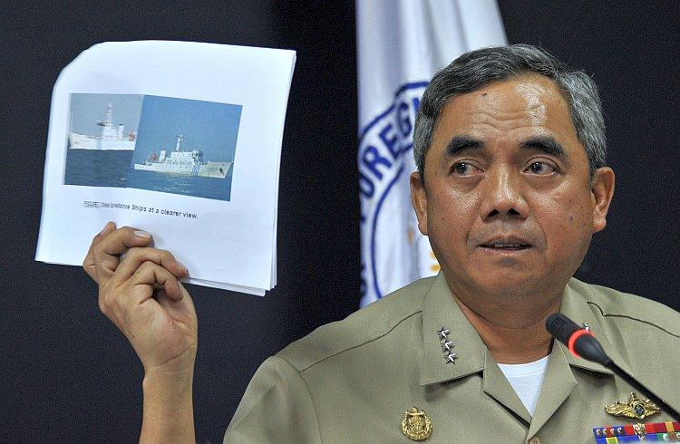 Philippine Navy Vice Adm. Alexander Pama