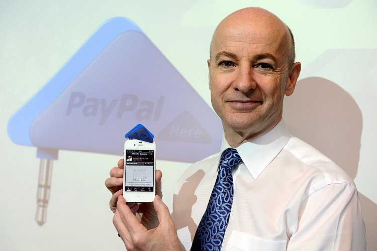 Senior vice president of Asia Pacific for Paypal