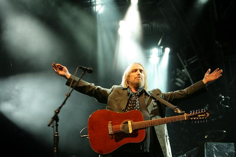 Tom Petty rocks Golden Gate Park at the Outside Lands Music Festival in San Francisco on August 23.  (Karl Walter/Getty Images)