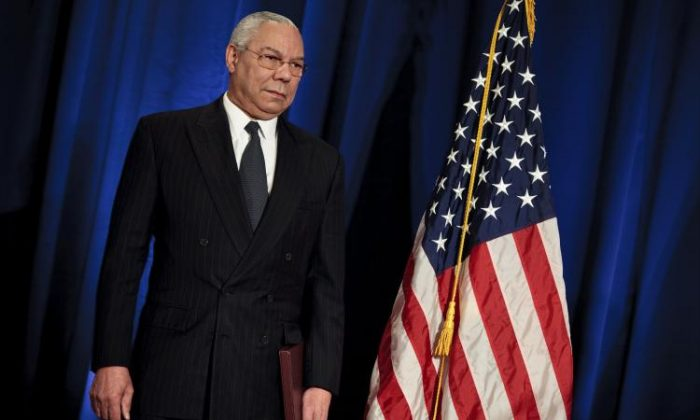 Former U.S. Secretary of State Colin Powell at Decatur House in Washington on March 5, 2019. (Brendan Smialowski/Getty Images)