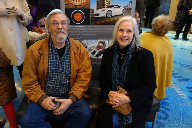 Sarah Cherry and her brother in law, Pat Moore, attend Shen Yun