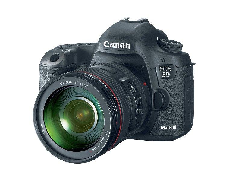 Canon's new EOS 5D Mark III