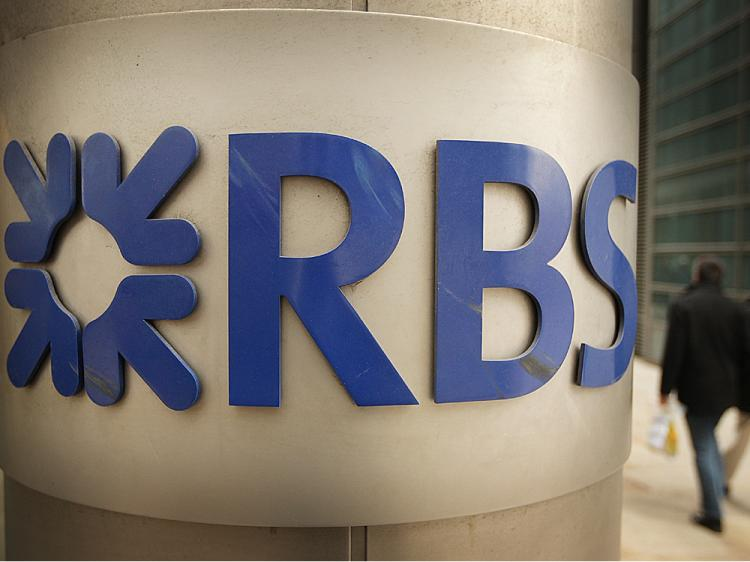 The Royal Bank of Scotland looked to investors for extra cash to help it through the credit crunch but had to be bailed out by U.K. taxpayers, which now owns 58 percent of its shares.  (Peter MacDiarmid/Getty Images)