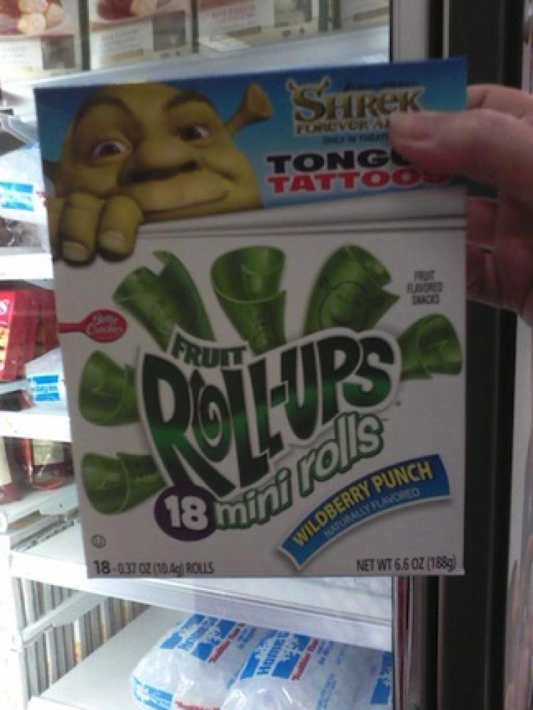 Rolling out the truth: A woman in New York filed a lawsuit Tuesday against General Mills Inc. complaining that the company's Fruit Roll-Ups snacks are being marketed in a dishonest manner. (Jordan Chasteen)