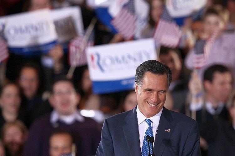 Republican presidential candidate, former Massachusetts Gov. Mitt Romney