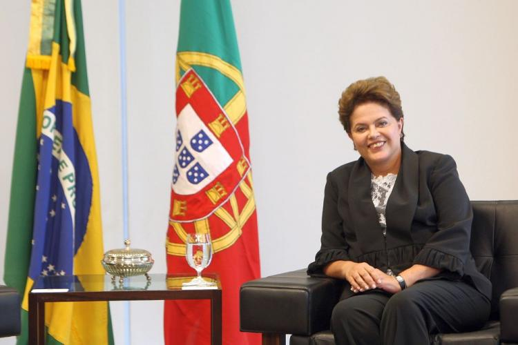 Brazilian President Dilma Rousseff was sworn in on January 1, becoming the first female president of Brazil. (Adriano Machado/AFP/Getty Images)