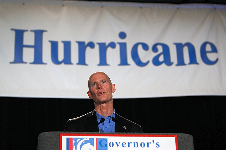 Gov. Rick Scott Speaks At Annual Hurricane Conference