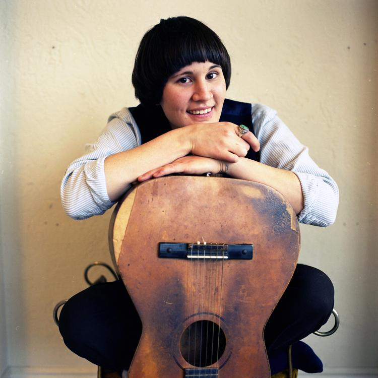 Julie Bee, (Sea of Bees) whose debut album 'Songs for the Ravens' was released in January to critical acclaim.  (Heavenly Recordings)