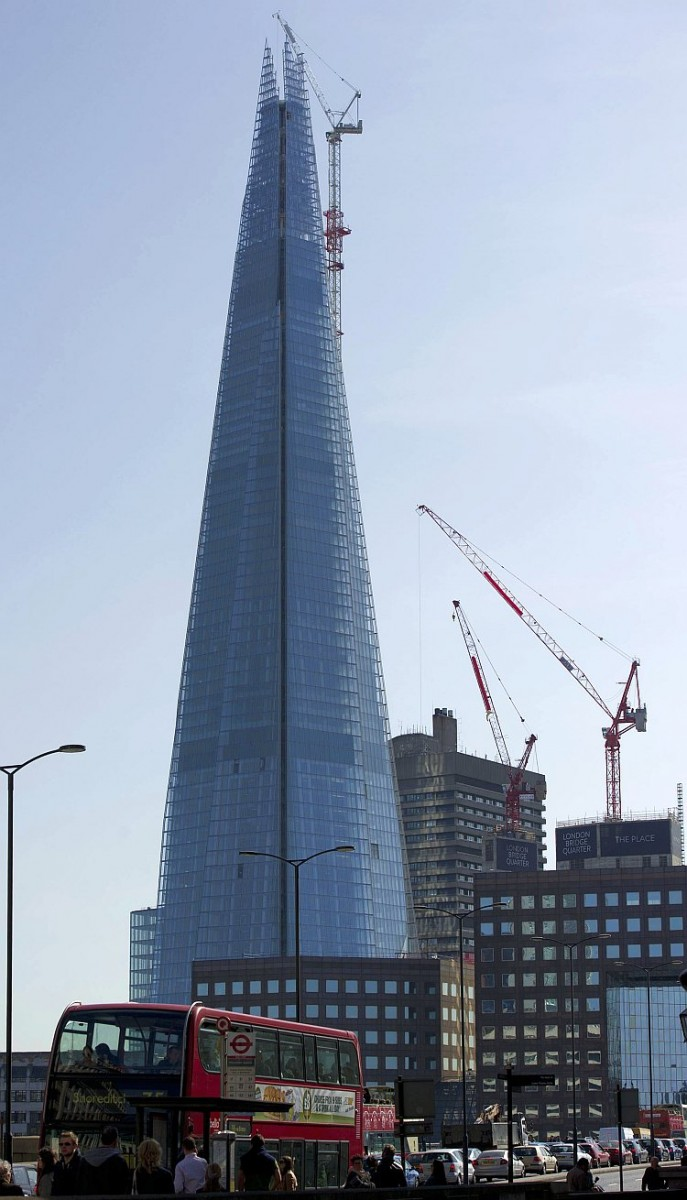 The Shard, the European Union's tallest building