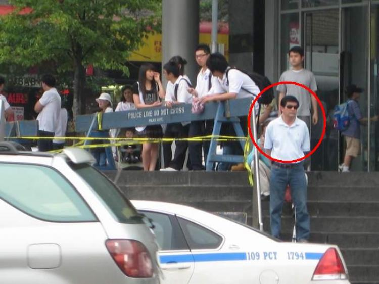 Qu Xiangqi, a Chinese Communist special agent. (The Epoch Times)