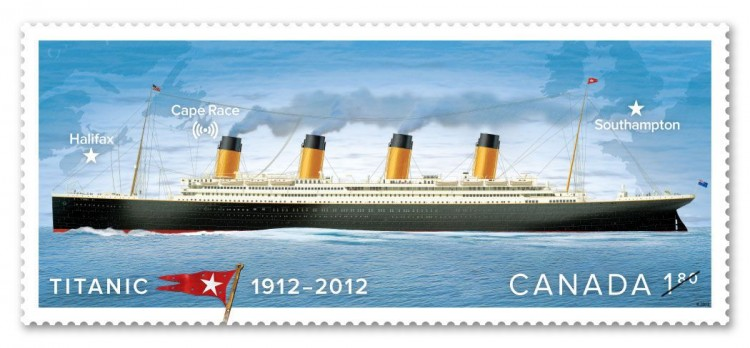 CANADA POST - Centennial of the sinking of RMS Titanic
