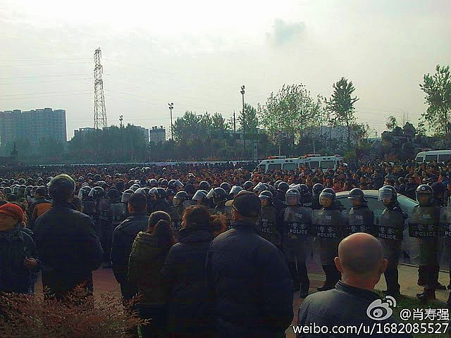 Sichuan Province went on a three-day strike