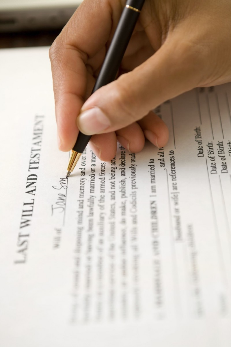 Fifty-six percent of Canadian adults haven't completed their last will and testament, according to a new survey.