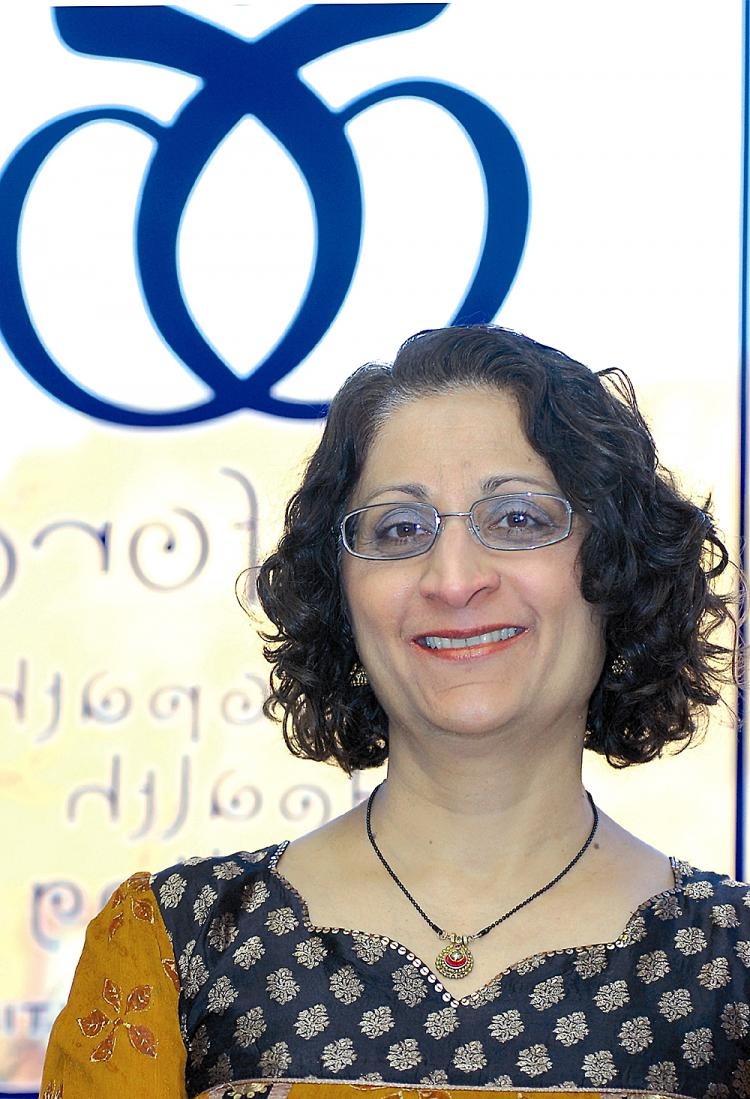 SUJATA OWENS: As a homeopath, Owens seeks a humane approach to medicine. (Thom Caya)