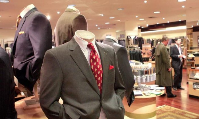The interior of a Men's Wearhouse store in a file photo. (Scott Olson/Getty Images)
