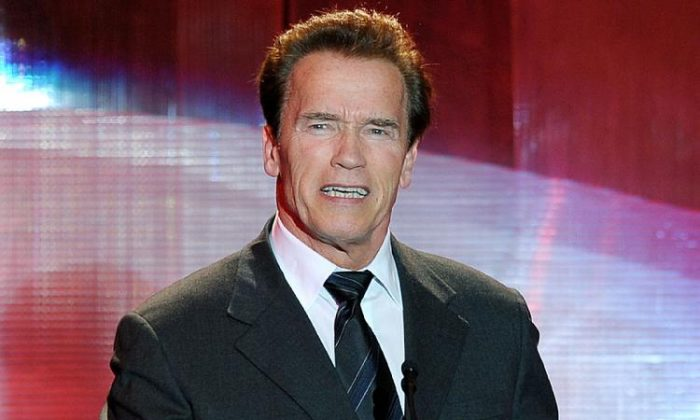 A file photo of former California Governor Arnold Schwarzenegger. (Kevin Winter/Getty Images)