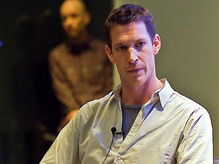 Tim Hetherington, Oscar-nominated war photographer and documentarian, was killed in the Libyan city of Misrata on Wednesday, April 20. (Aloysio Santos/The Epoch Times)