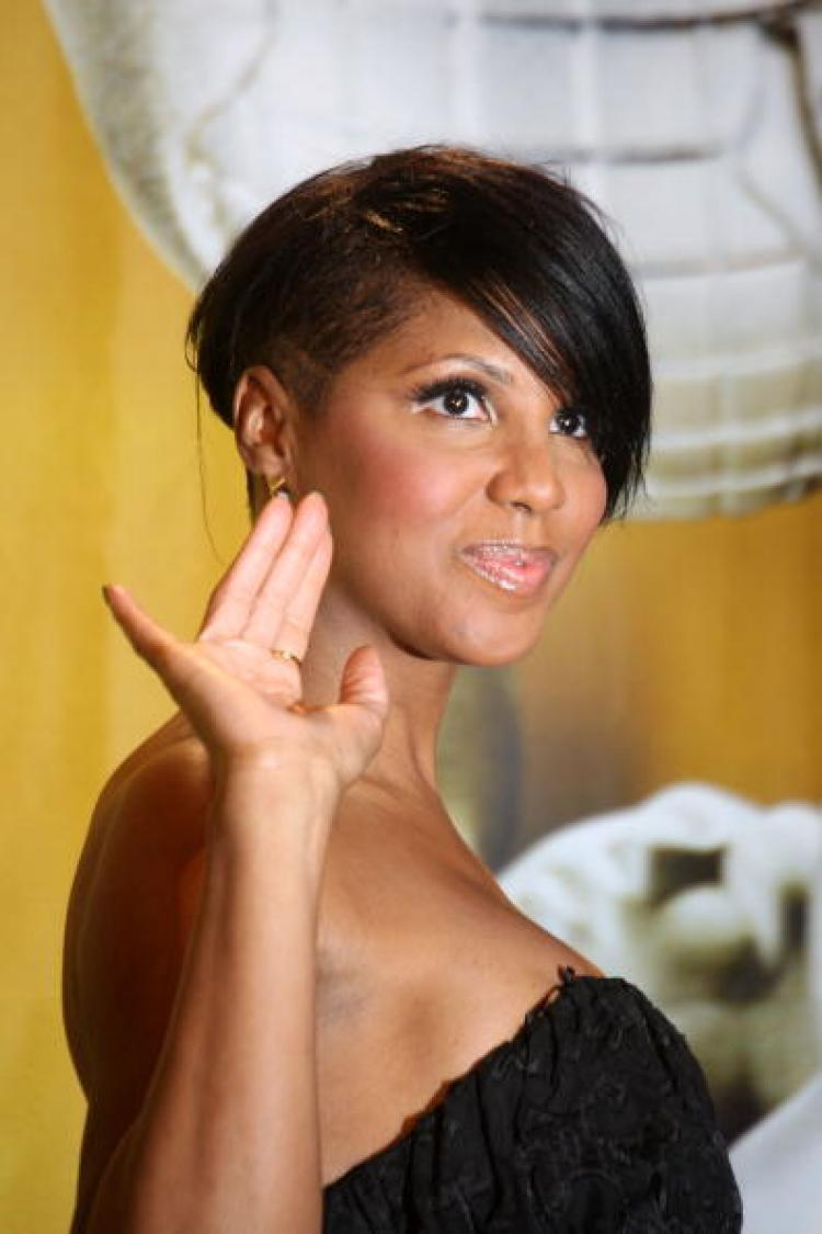 Singer Toni Braxton poses in the press room during the 41st NAACP Image awards held at The Shrine Auditorium on February 26, 2010 in Los Angeles, California. (Frederick M. Brown/Getty Images for NAACP)