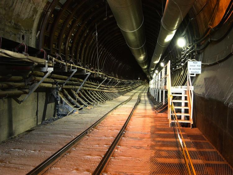 NUCLEAR RESTING PLACE: Yucca Mountain is the U.S. Department of Energy's potential geologic repository designed to store and dispose of spent nuclear fuel and high-level radioactive waste.  (Maxim Kniazkov/Getty Images )
