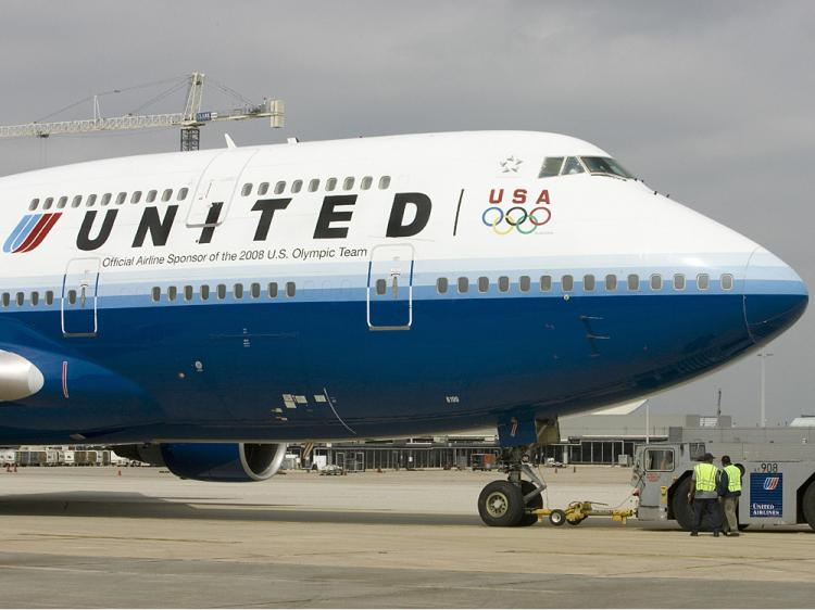 United Airlines has scrapped plans to charge coach-class customers for in-flight meals.  (Paul J. Richards/AFP/Getty Images)
