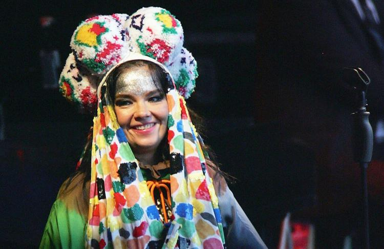 Bjork's call for Tibetan freedom at a Shanghai concert in March unnerved communist officials. (Hannah Johnston/ Getty Images)